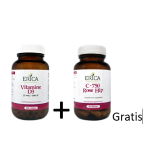 Erica vitamines D3 softgels