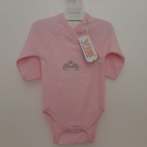 VIB Verry Important Baby romper in roze of blauw