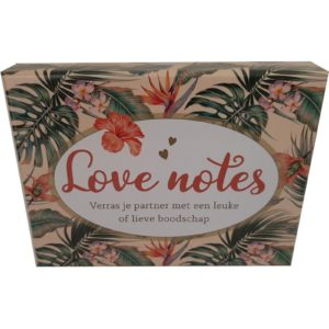 Love notes box met 50 lieve kaartjes