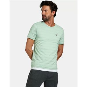 Refill shirt Thijs in mint van Shoeby Colmschate